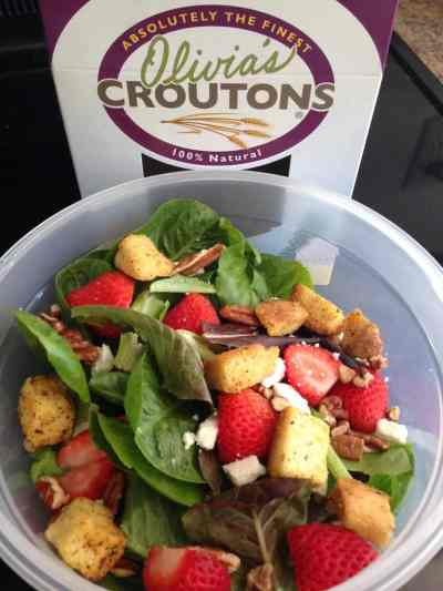 Olivia's Croutons - family owned business from New Haven, VT - makes the best croutons in small batches right from a renovated 1912 Dairy Barn