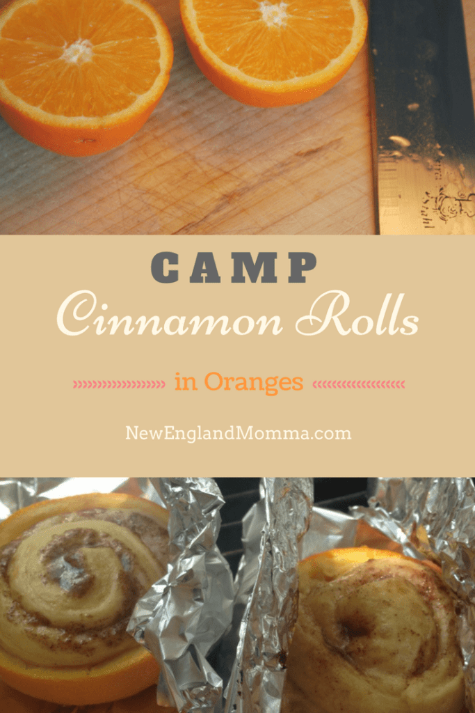 This is a fun way to cook cinnamon rolls while camping and no burnt bottoms!