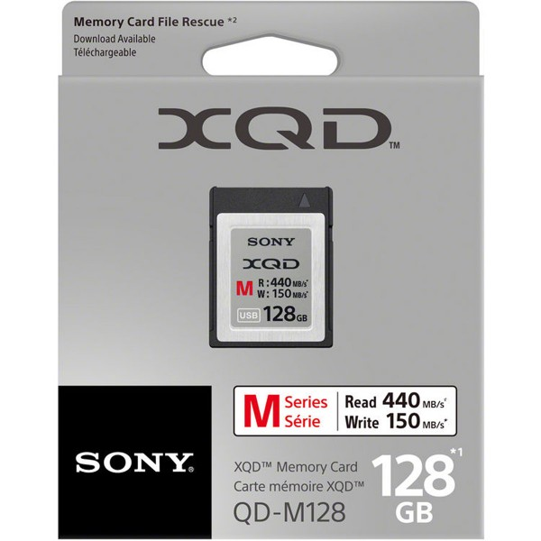 SONY XQD M Series Memory Card 128GB - New Era Electronic Solutions Ltd
