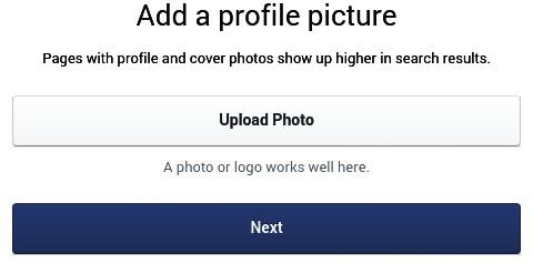 Upload photo