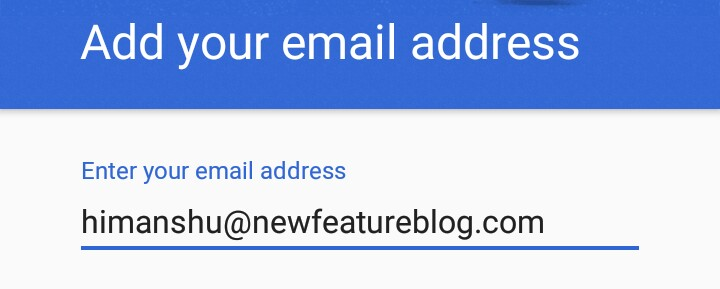 enter your custom email address