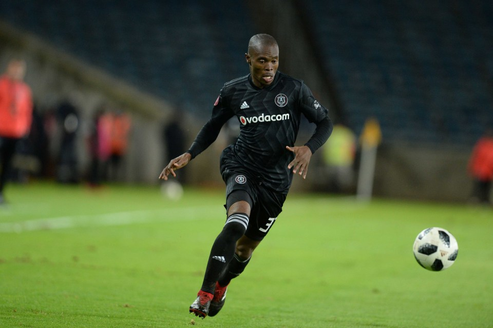 8 January 2018: Asavela Mbekile of Orlando Pirates in action during the Absa Premiership match against Chippa United at Orlando Stadium in Johannesburg. (Photograph by Lefty Shivambu/Gallo Images)