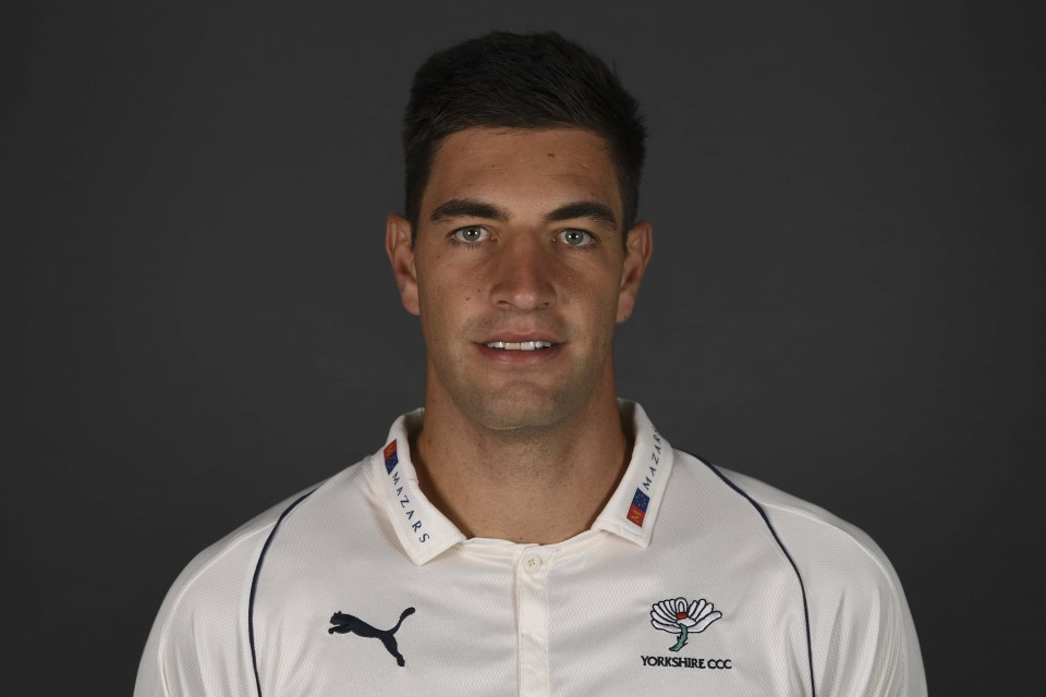29 March 2019: Fast bowler Duanne Olivier has signed a three-year contract with the Yorkshire County Cricket Club in England. (Photograph by Gareth Copley/Getty Images)
