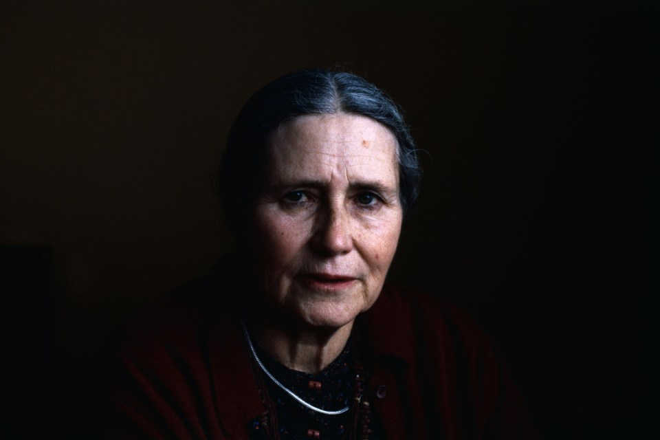 Dorris Lessing, for a time a member of the Southern Rhodesia Communist Party. (Photograph by Getty Images)