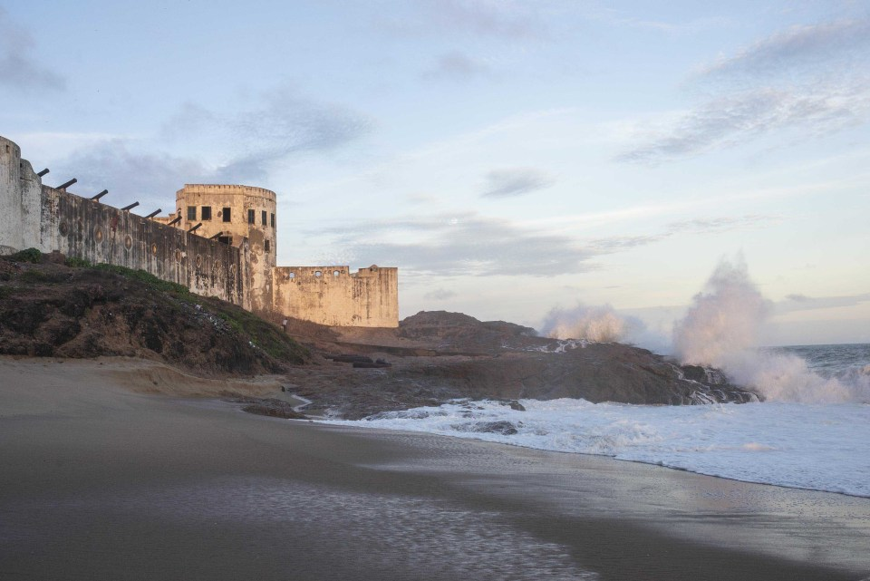 24 September 2018: The Cape Coast Castle which housed slaves on the gold coast of West Africa is not too far from the Cape Coast Sports Stadium where Banyana Banyana qualified for the World Cup.