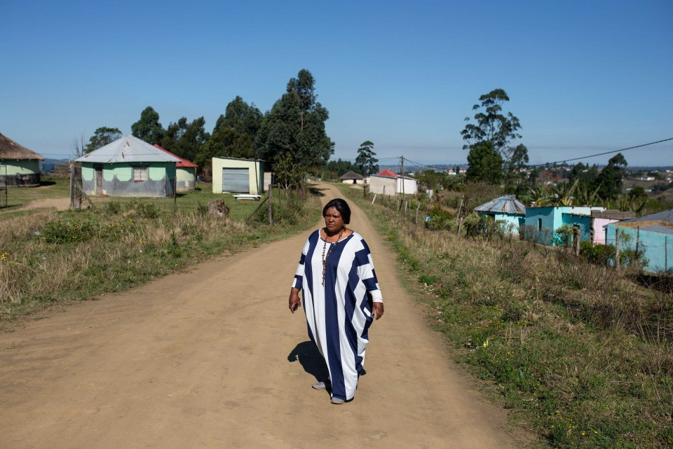 28 August 2018: Lerato Ntombela, a resident in Izingolweni on KwaZulu-Natal's South Coast, has joined up with other activists to challenge the levy fees and taxes imposed by their local chief.