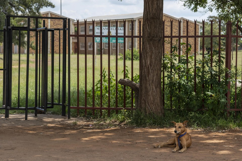 11 March 2019: Mmametlhake High School in Mpumalanga, where the incident involving Derrick Bopape took place.