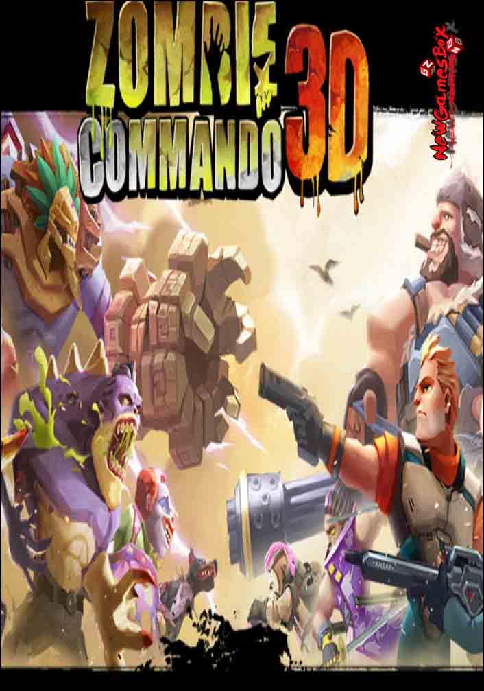 Zombie Commando 3D Free Download