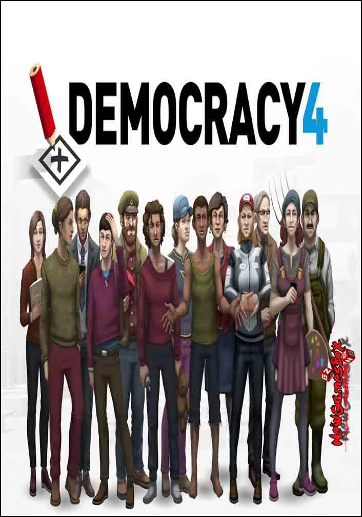 Democracy 4 Free Download Full Version PC Game Setup