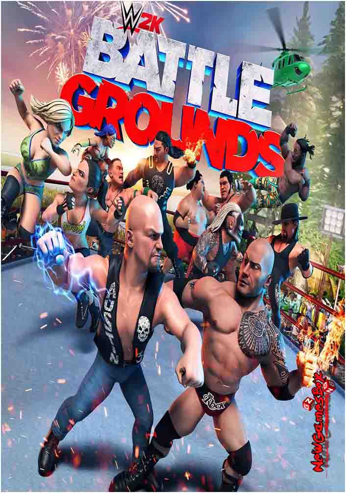 WWE 2K Battlegrounds Free Download Full Version PC Setup
