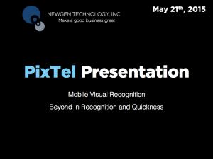 PixTel Presentation
