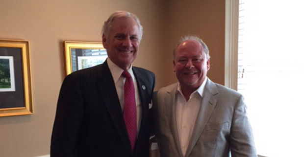 Meeting with Governor McMaster
