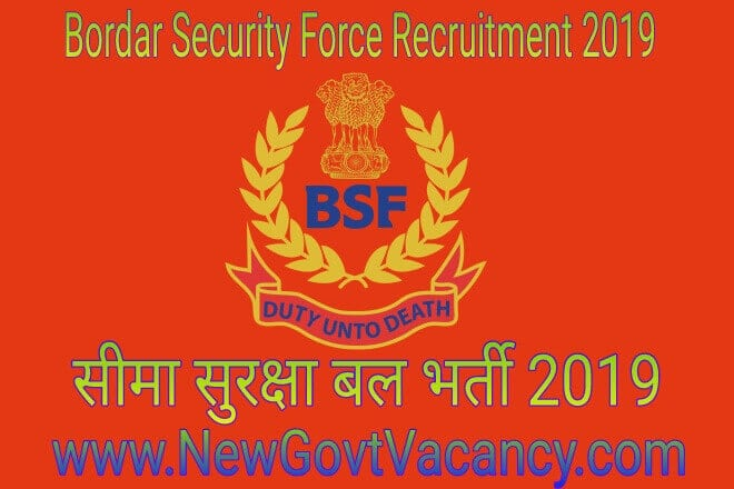 bsf Recruitmnet 2019