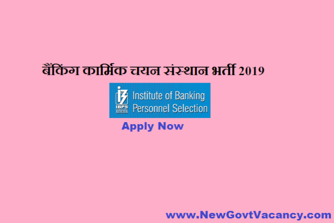 IBPS RRB Recruitment 2019