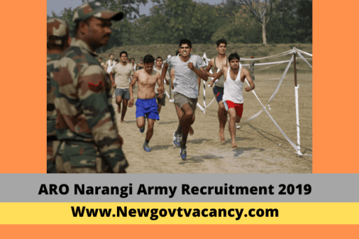 ARO Narangi Army Recruitment 2019