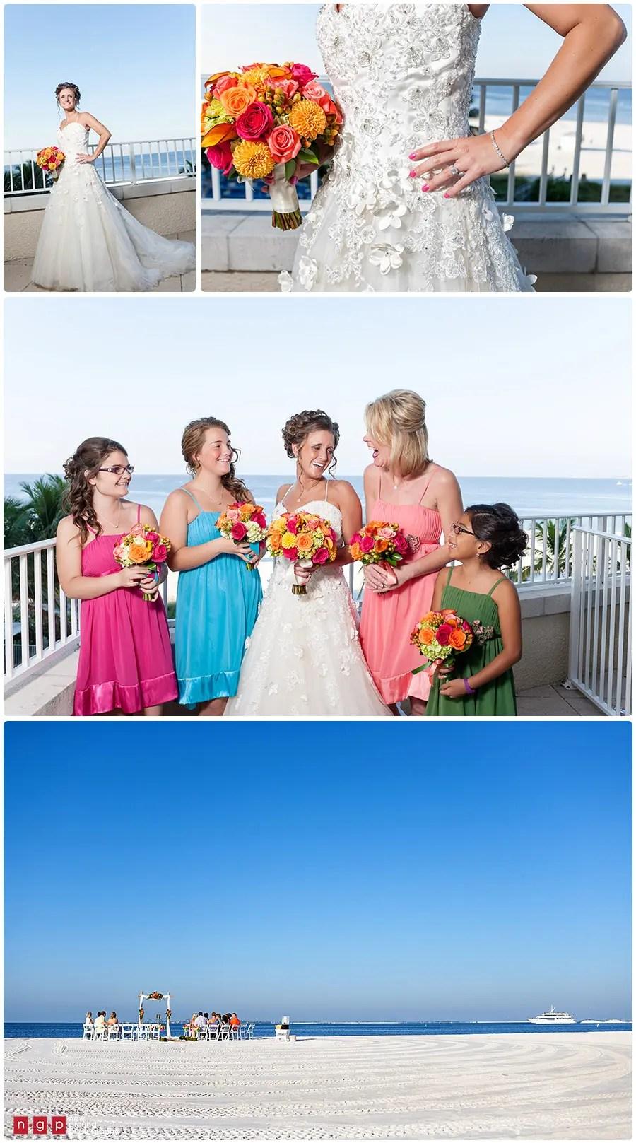 Pink Shell Wedding Kacey Mark Fort Myers Beach