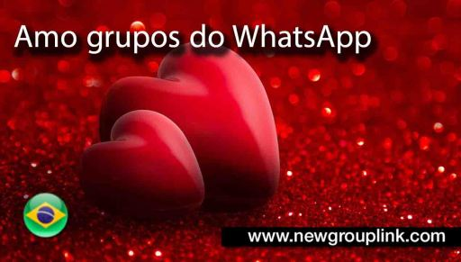 Amo grupos do WhatsApp