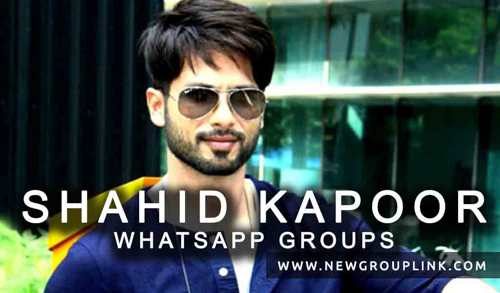 Shahid Kapoor WhatsApp Group Links to join
