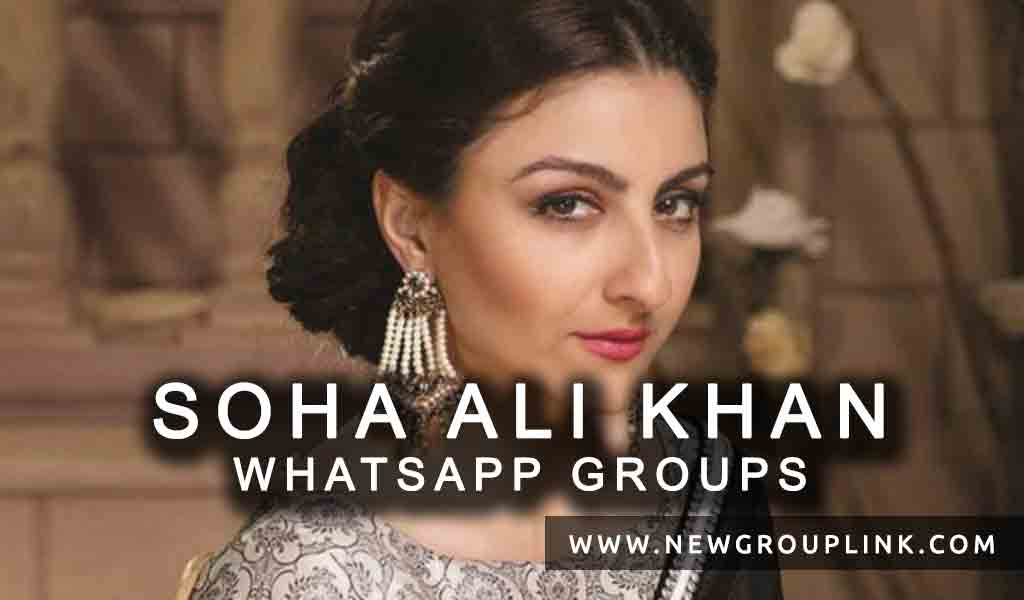 Soha Ali Khan WhatsApp Group Links