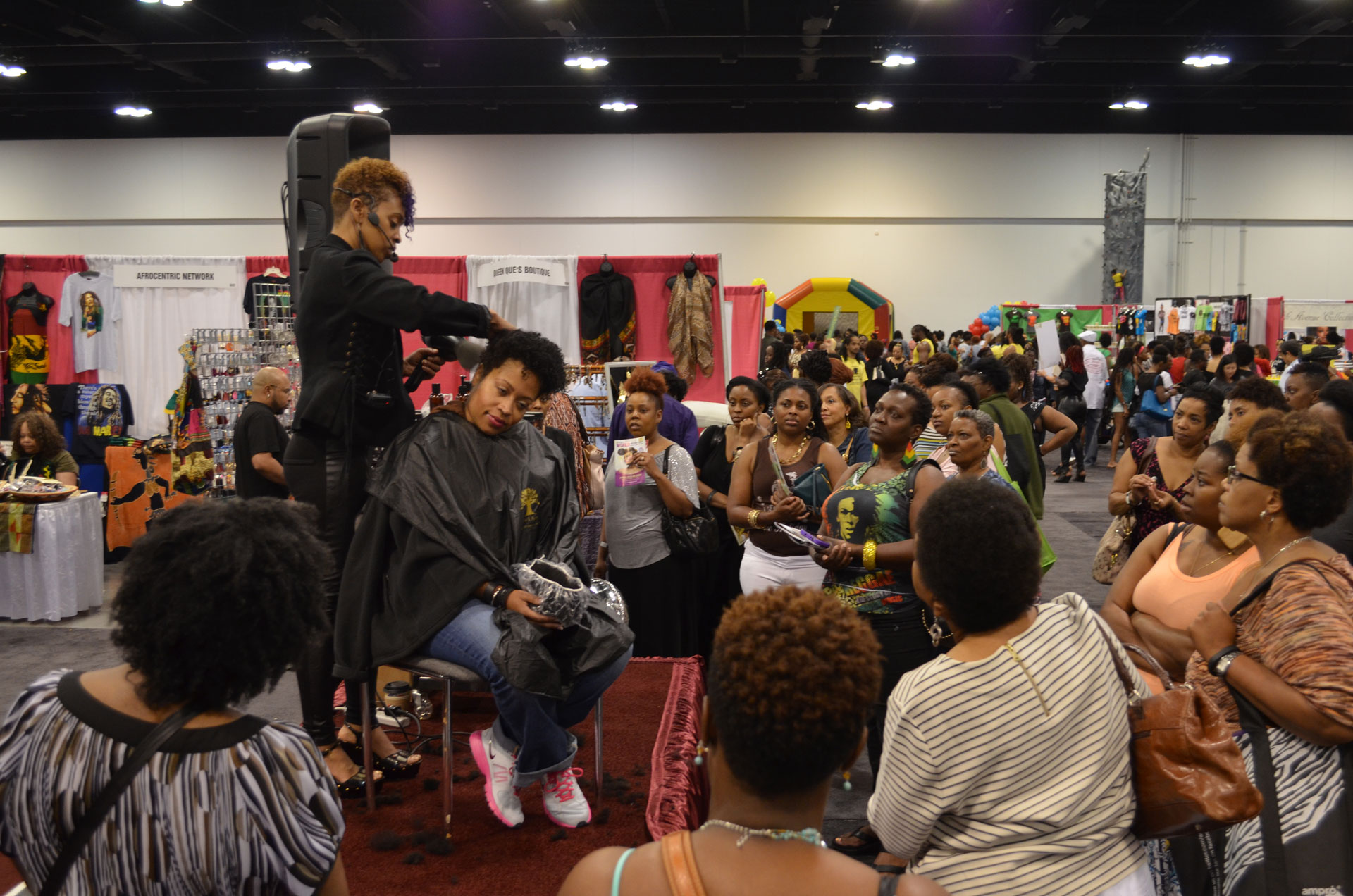 Taliah Waajids World Natural Hair Show New Growth Hair