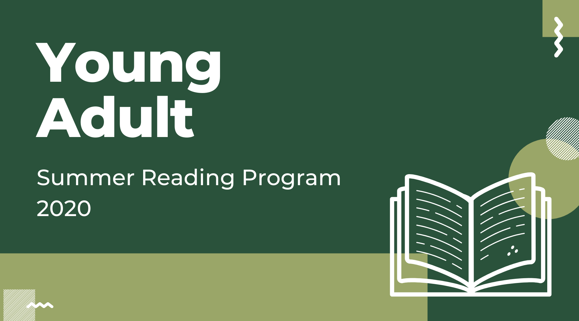 Young Adult Summer Reading Program 2020