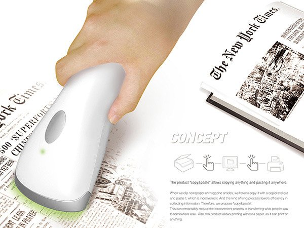 Portable Scanner Concept At Newhitechgadgets