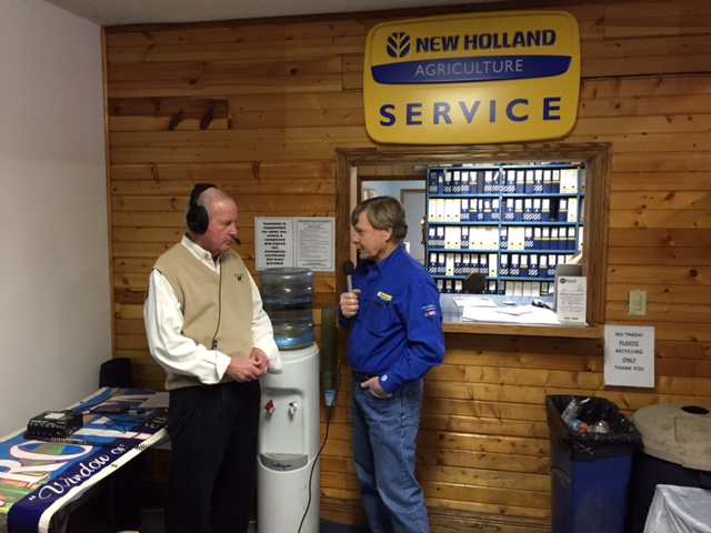 New Holland Rochester President Jim Straeter took a moment to speak with WROI Tom Bair about the Open House event