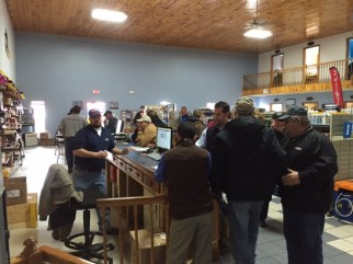Plenty of customers showed up to take advantage of all of the great Open House parts discounts