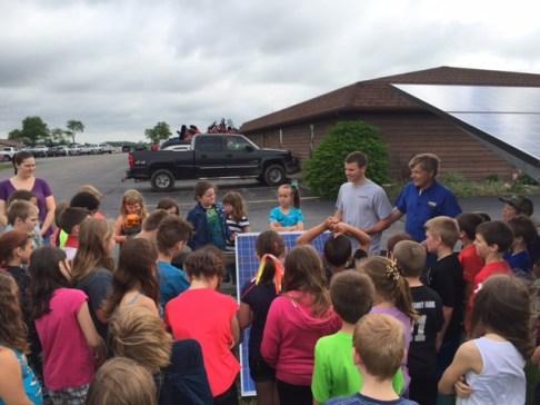 3rd Grade Solar Visit 1