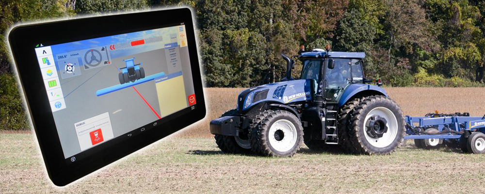 Trimble XCN-1050™ Display - New Holland Rochester on