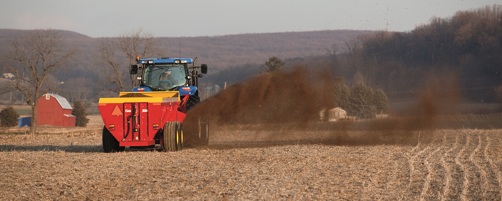 New Holland ISOBUS Product Control - New Holland Rochester