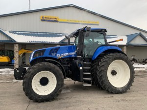 The New Holland Genesis T8 With PLM Intelligence