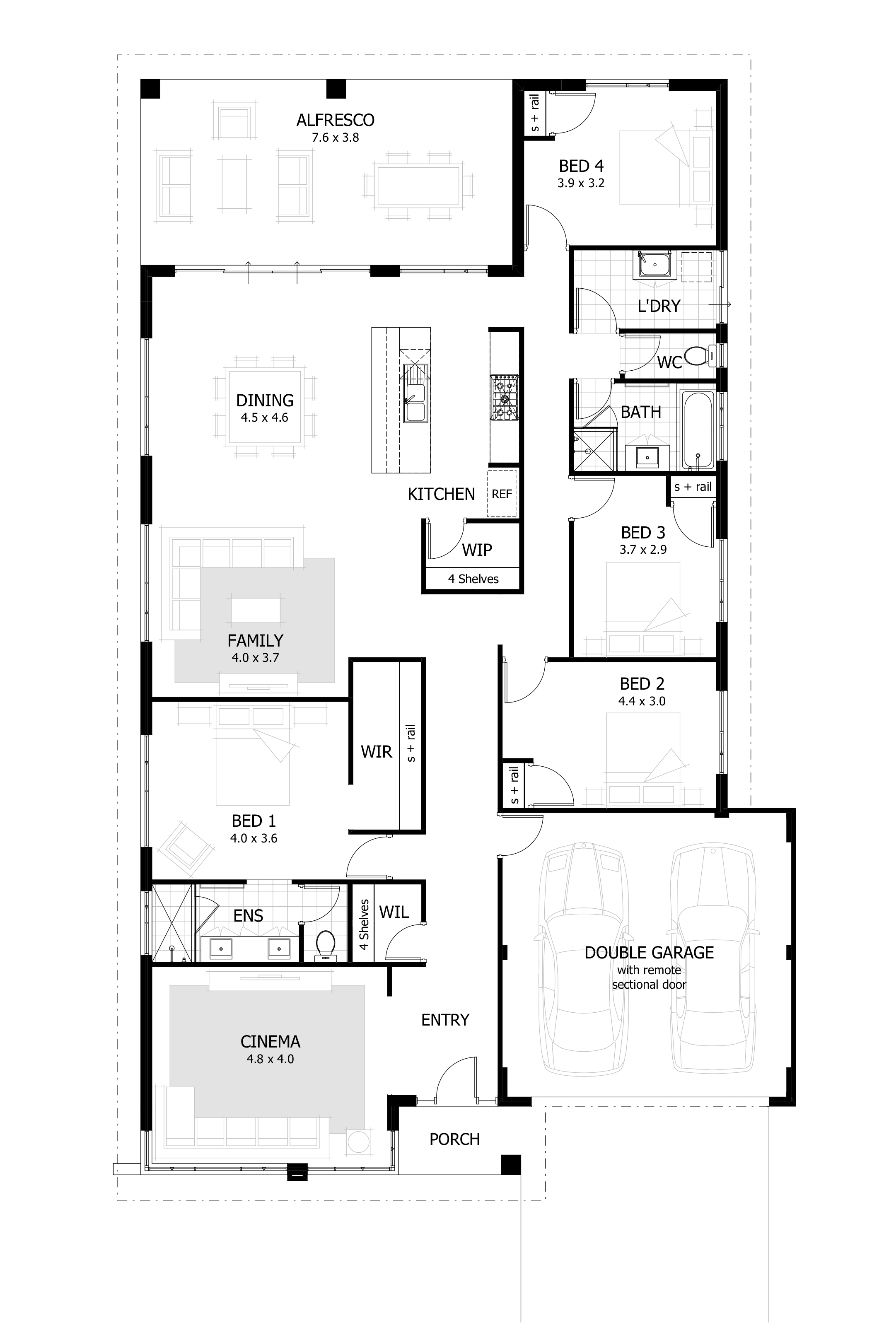 The Chapman Display Home By Celebration Homes