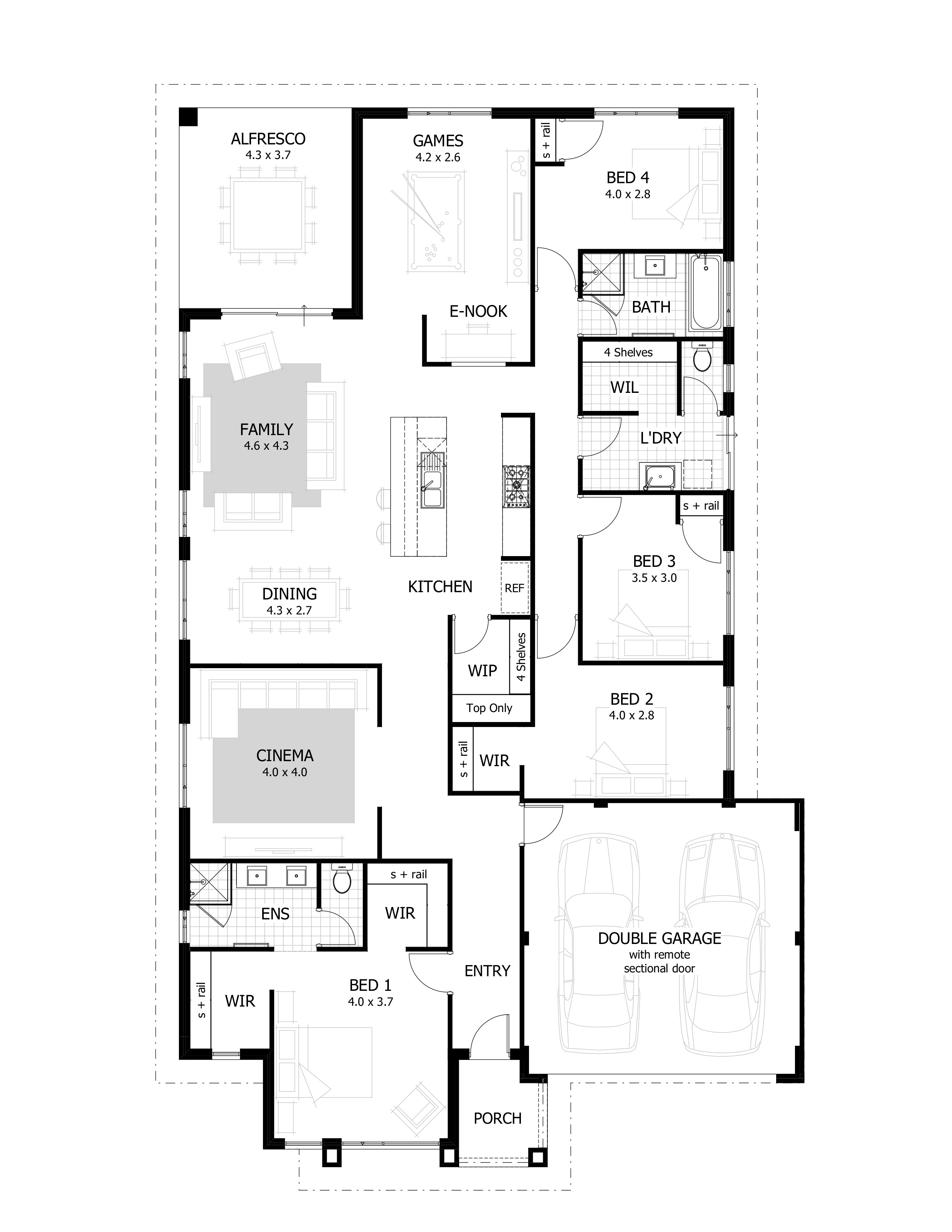 The Hamilton Display Home By Celebration Homes