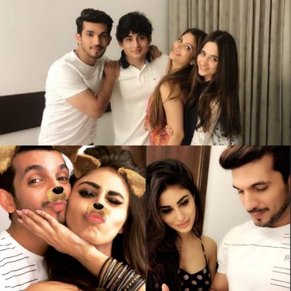 Mouni Roy sings a romantic song for girlfriend Sanjeeda