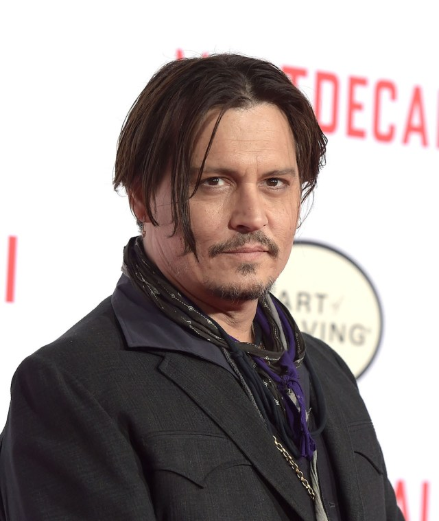 Johnny Depp before