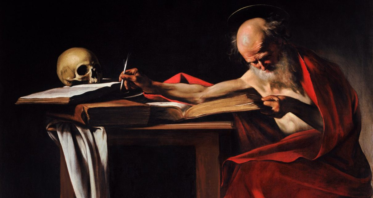 Saint Jerome Writing-Caravaggio