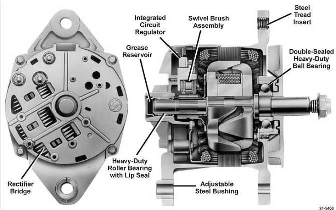 diagram delco 21si alternator wiring diagram full version