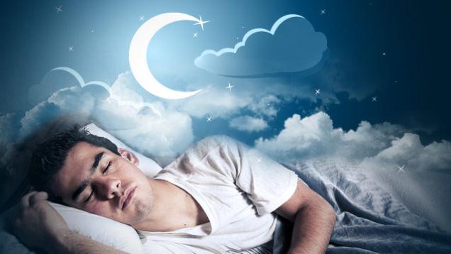 stay asleep through the night
