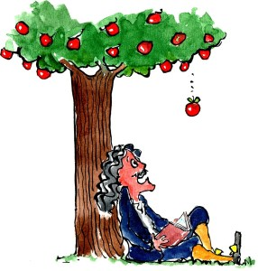 Interesting Isaac Newton Facts : LedgendWho Discovered Gravity