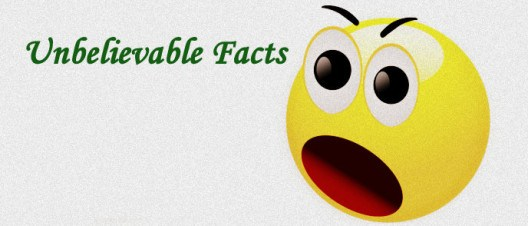 Some Unbelievable facts That You Haven't Heard Before