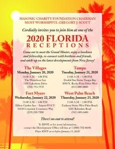 Masonic Charity Foundation Florida trip