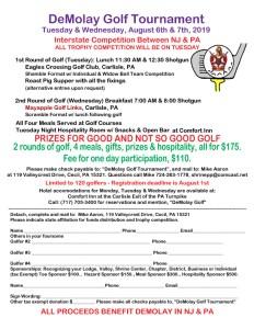 DeMolay Golf Tournament