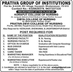 Prativa Group Institution Bhubaneswar
