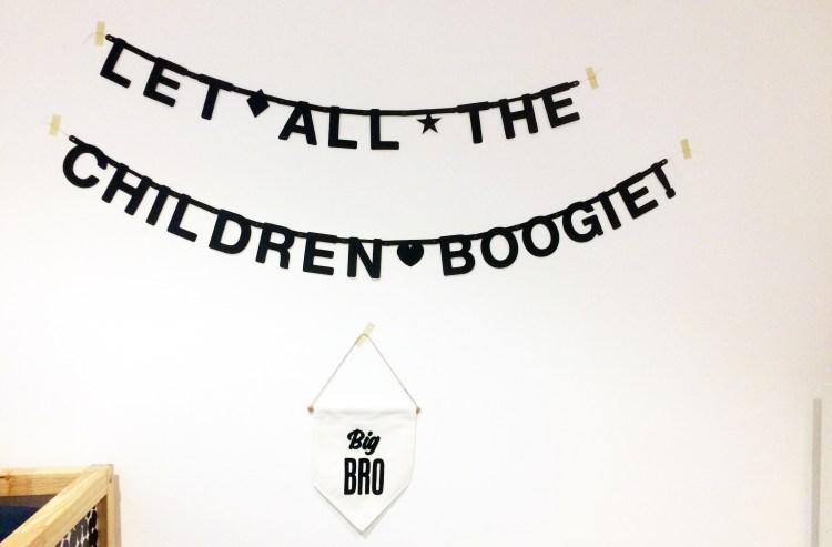 Schnappschuss aus dem Kinderzimmer unserer Gastgeber in Barcelona