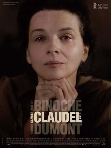 Camille Claudel 1915 - affiche- Bruno Dumont