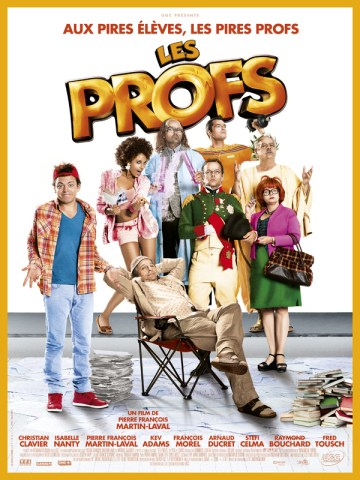 Les Profs - affiche
