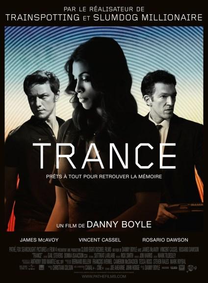 Trance - affiche- Danny Boyle