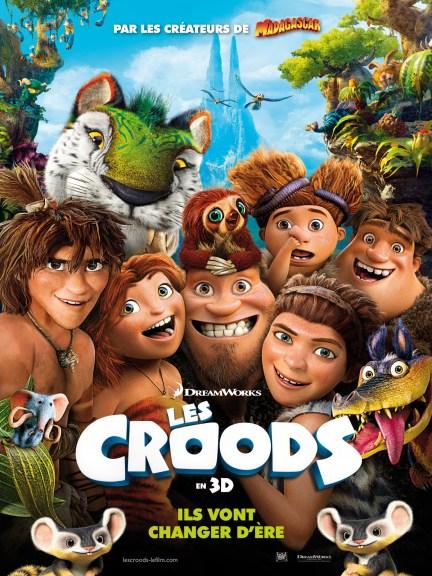 Les Croods - affiche il vons changer d ere