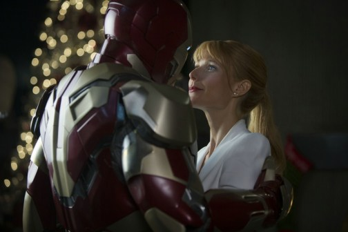 Iron Man 3 - Photo Gwyneth Paltrow, Robert Downey Jr.